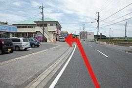 さくら都市 袖ケ浦支店 交通案内(袖ケ浦駅より)4.約300m先、左手にさくら都市 袖ケ浦支店です